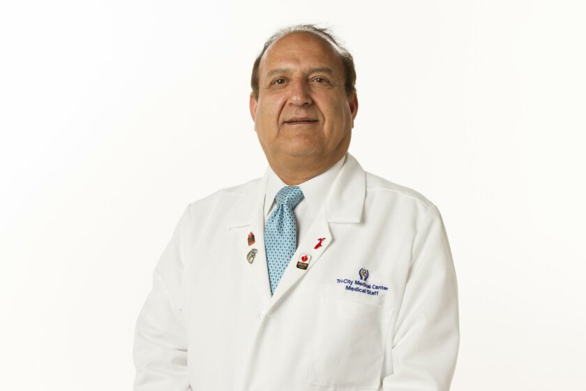 Dr. Hamid Movahhedian, Neonatologist at Tri-City Medical Center. Chadd Cady / San Diego Union-Tribune