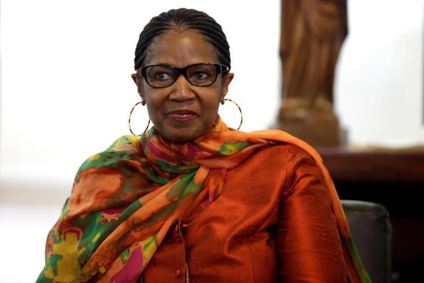 Fotografía de la directora ejecutiva de ONU Mujeres, Phumzile Mlambo-Ngcuka. EFE/Archivo