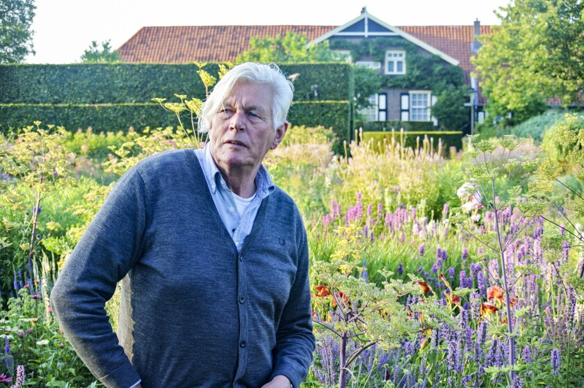Piet Oudolf at Hummelo (photo credit: Malcolm Wyer)