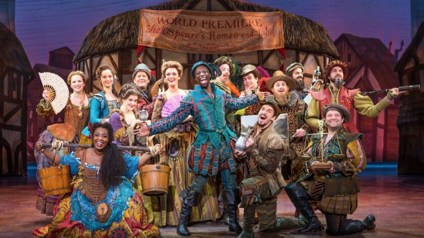 "The national tour of the musical comedy ""Something Rotten!"" comes to Costa Mesa's Segerstrom Center for the Arts."