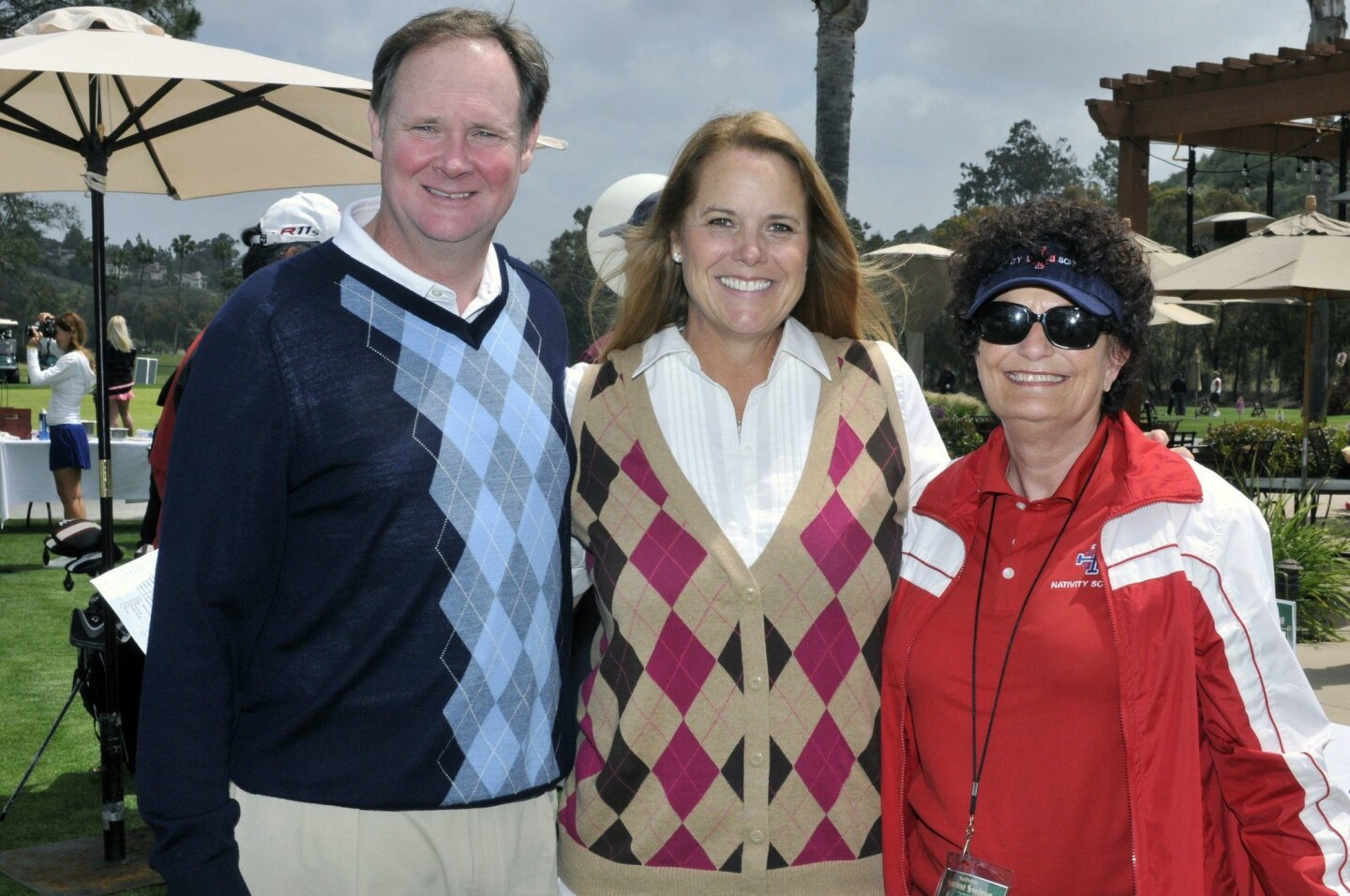Brad and event co-chair Carrie Wilhite, Principal Margaret Heveron
