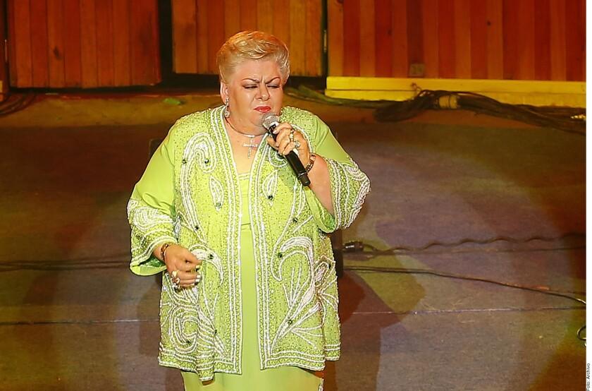 Paquita la del Barrio recibirá un homenaje a su trayectoria artística.