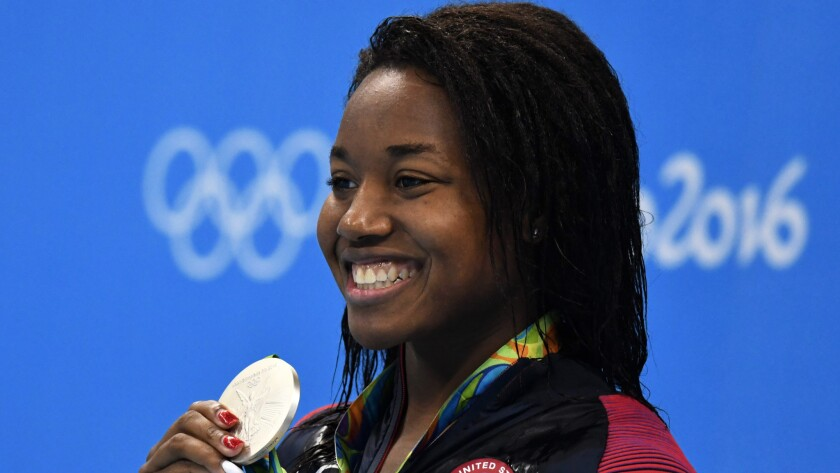 Op-Ed: An unspoken barrier to getting more black girls in the pool: the hair factor