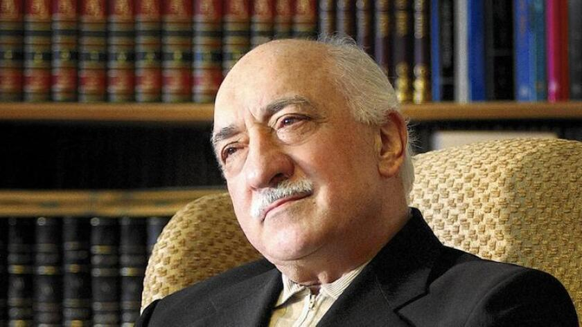 Islamic cleric Fethullah Gulen is shown at his residence in Saylorsburg, Penn., in this Dec. 28, 2004, file photo. Gulen has been accused of being behind the failed coup in Turkey.