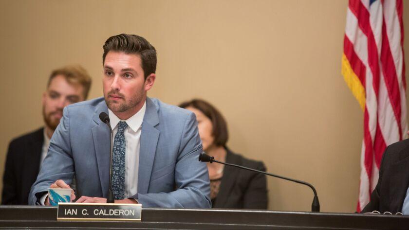 California Assembly Majority Leader Ian Calderon.