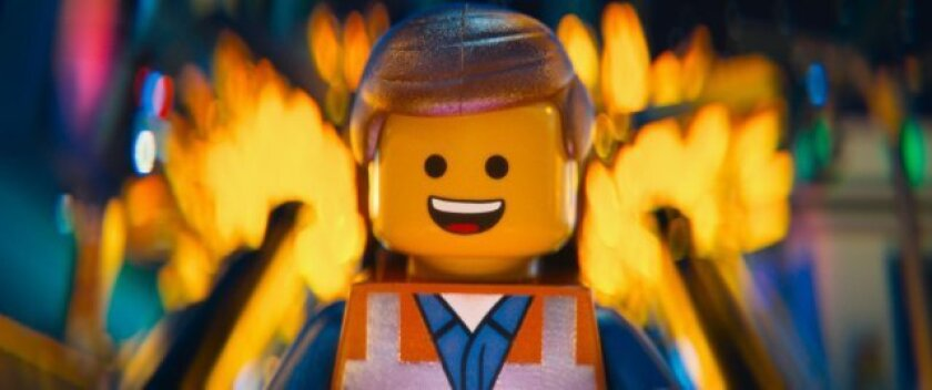 """A scene from """"The Lego Movie,"""" which posted the biggest opening of the year at the box office this weekend."""