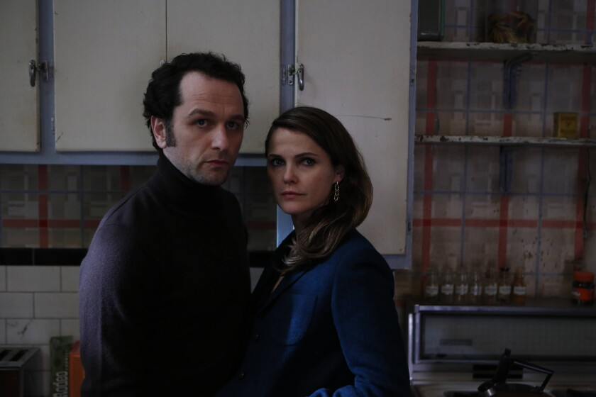 "Gregory Allen Justice of Culver City has pleaded guilty to economic espionage in a scheme reminiscent of ""The Americans,"" the FX drama starring Matthew Rhys and Keri Russell, above."