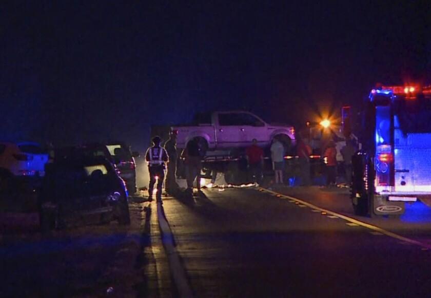 Mississippi trailer crash