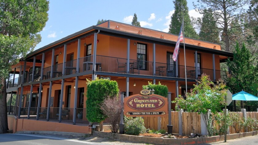 YOSEMITE AREA - The Groveland Hotel is listed on the National Register of Historic Places. It featur