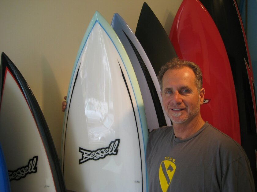 Tim bessell of La Jolla will be one of the six competitors in the expo's Shape-off Contest. Steven Mihailovich