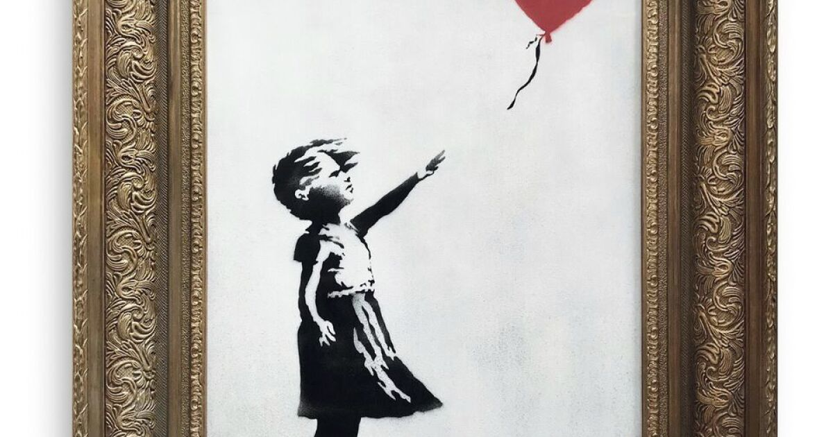 Banksy pranks auction by shredding million-dollar painting  Now it