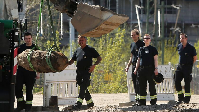 Bomb Disposal Team Defuses World War 2 Bomb In Berlin City Center
