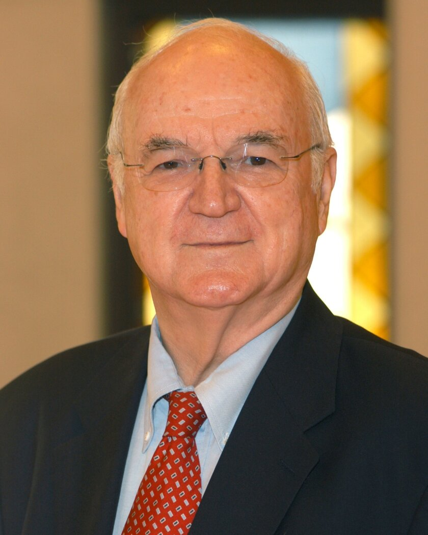 In this undated photo provided by the University of Notre Dame is the Rev. Richard McBrien. McBrien, a Notre Dame theologian known for his unabashed liberal stands on various church teachings and his popular books on Catholicism, died Sunday, Jan. 25, 2015 in his native Connecticut, according to th