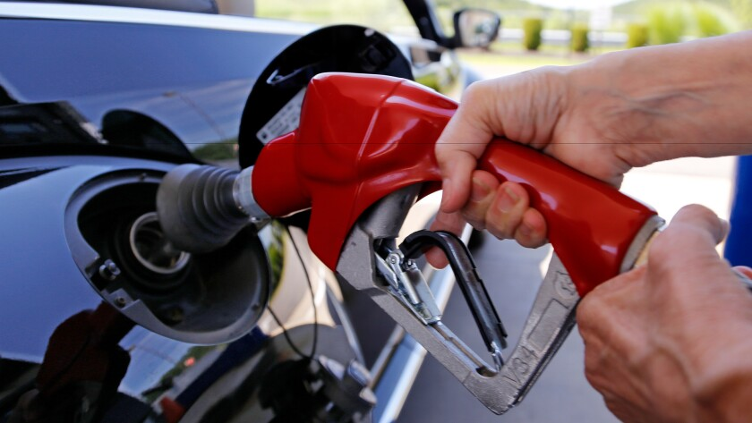 Tips to save at the pump when taking a road trip.