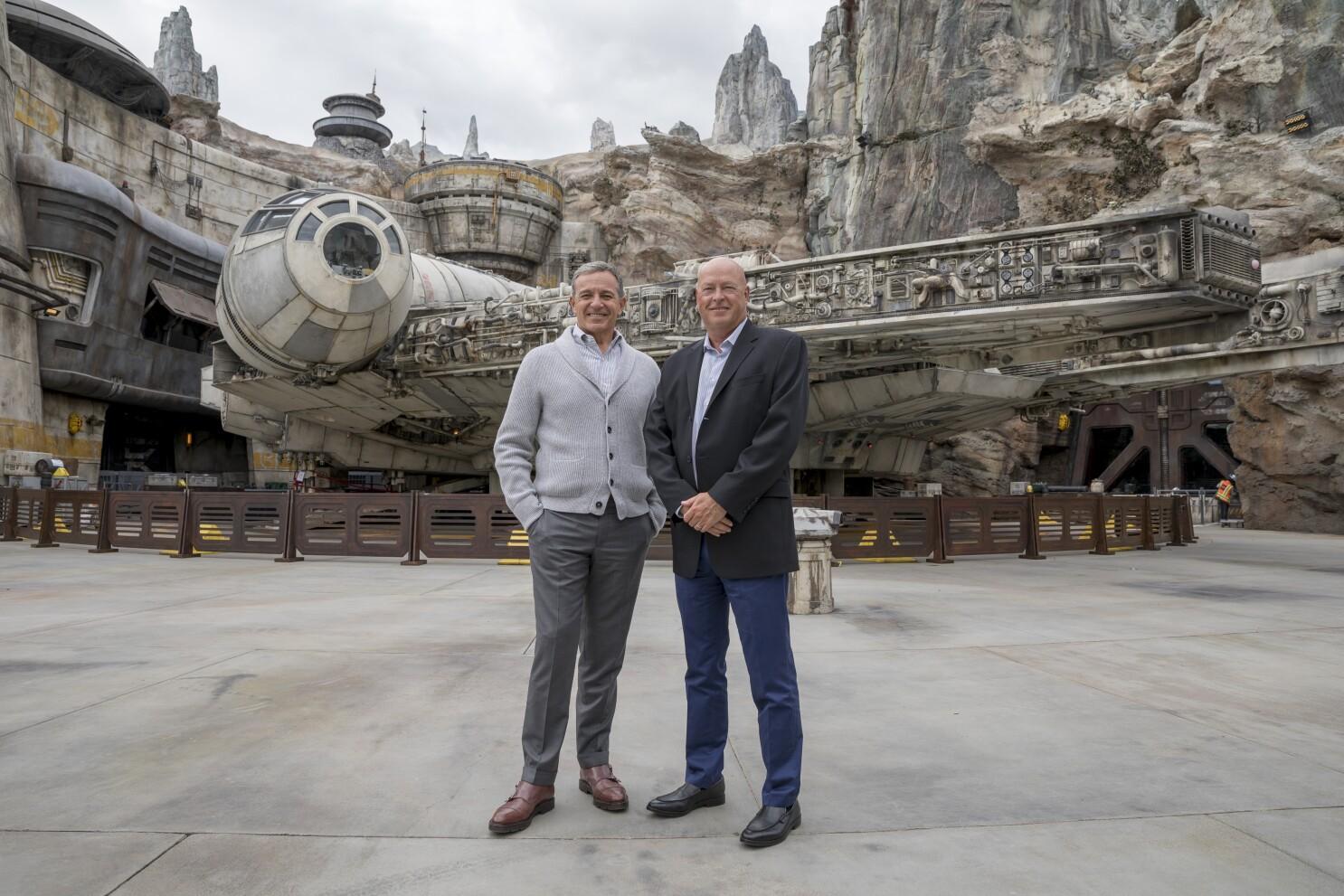 Disney revela salário de Bob Iger e Bob Chapek em 2020