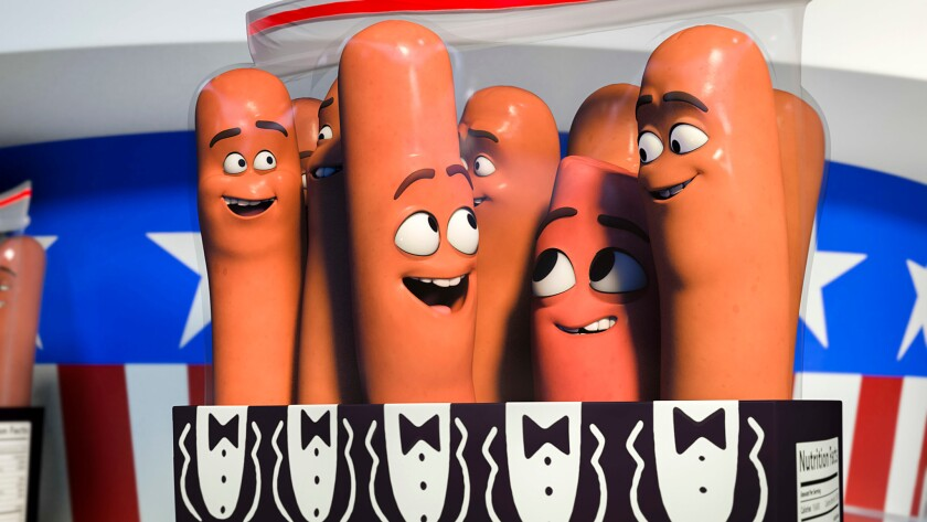 """With animation films capturing a hefty share of the U.S. box-office take, is there an audience for adult-themed animation content like """"Sausage Party?"""""""