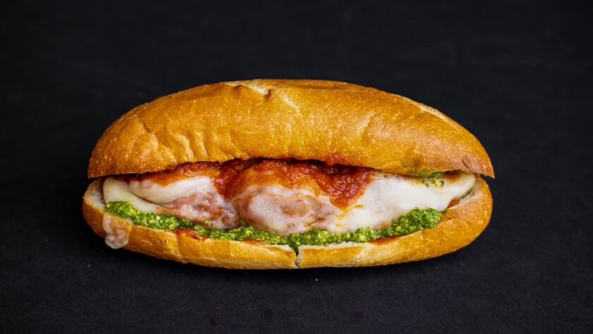 A sub from the new Westchester sandwich shop from David Kuo.