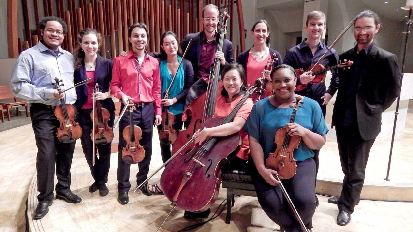 Kontrapunktus is a baroque ensemble that will be playing two concerts in Orange County in February a