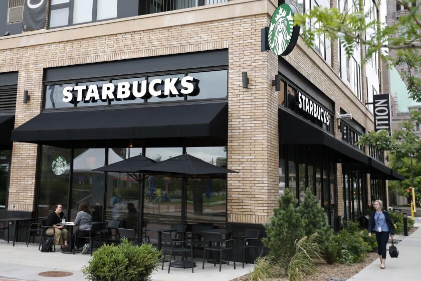 A Starbucks in Minneapolis