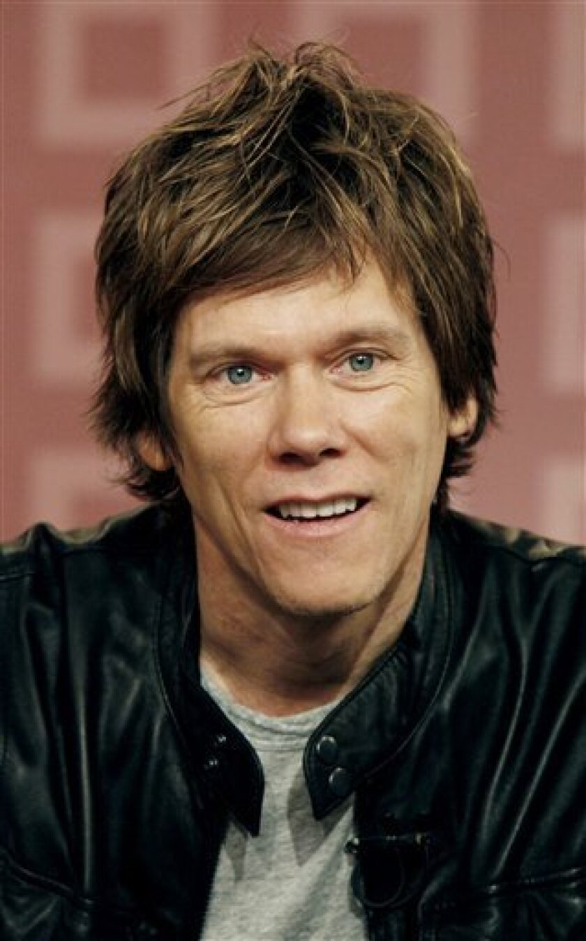 """In a Tuesday May 6, 2008 file photo, actor Kevin Bacon appears on the NBC """"Today"""" television program in New York. Bacon's name appears on a list of several thousand clients who lost money investing with Bernard Madoff. The list, which emerged Wednesday, Feb. 4, 2009, has been made public in a court filing in U.S. Bankruptcy Court in Manhattan. (AP Photo/Richard Drew)"""