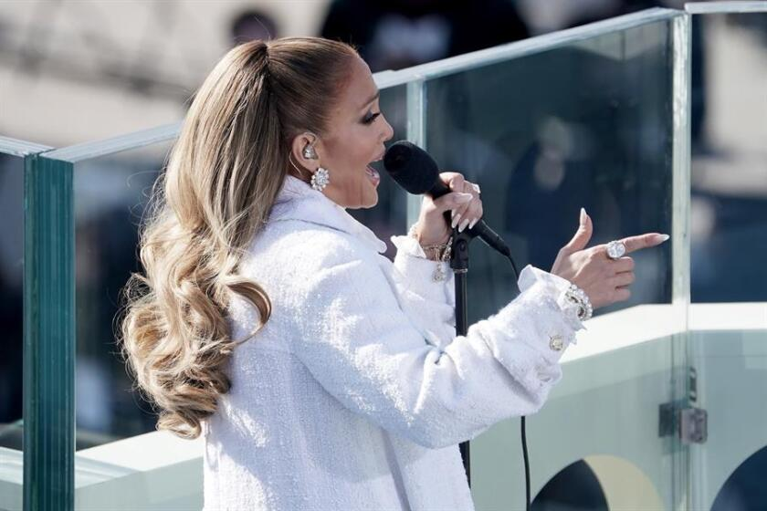Jennifer Lopez will perform during Wednesday's inauguration festivities.
