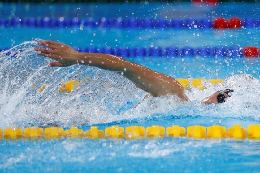 La brasileña Oliveira se cuelga el bronce en el podio de los 100 m libre, Geer obtiene oro