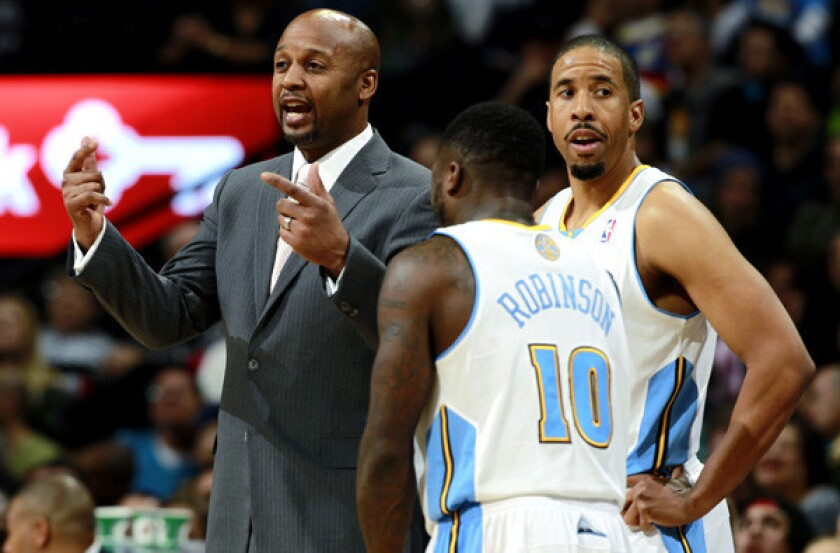 Brian Shaw, Nate Robinson, Andre Miller