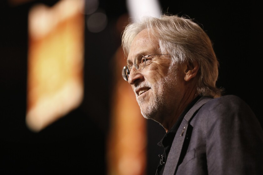 Former Recording Academy President Neil Portnow left his post in 2019.(Carolyn Cole / Los Angeles Times)