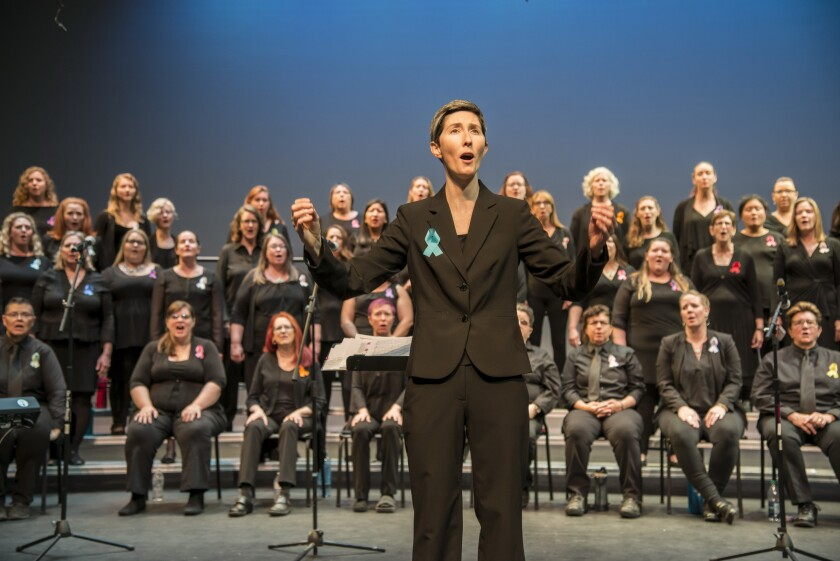 "San Diego Women's Chorus artistic director Kathleen Hansen says of the chorus' upcoming concert, ""Quiet No More: A Choral Celebration of Stonewall"": ""Stonewall is a very important conversation to have, especially with so many hate crimes occurring recently."""