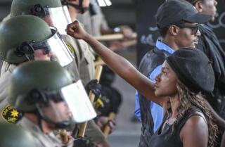 Unrest in El Cajon