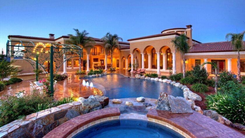 A mansion in Granite Bay, Calif.