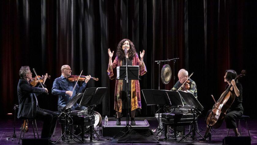 UCSB Arts & Lectures - Kronos Quartet & Masha Vadat 12/4/18 Campbell Hall, UCSB