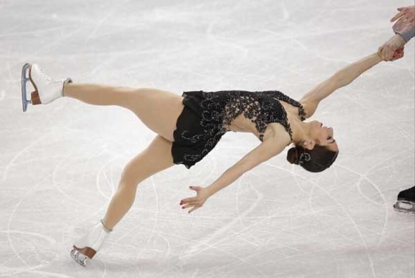 Figure skater Marissa Castelli