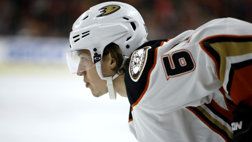 newest 9e65a c42c9 Rickard Rakell is one Duck who knows how to paddle - Los ...