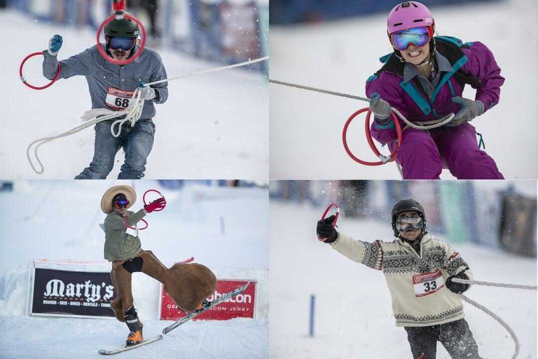 skijoring Utah