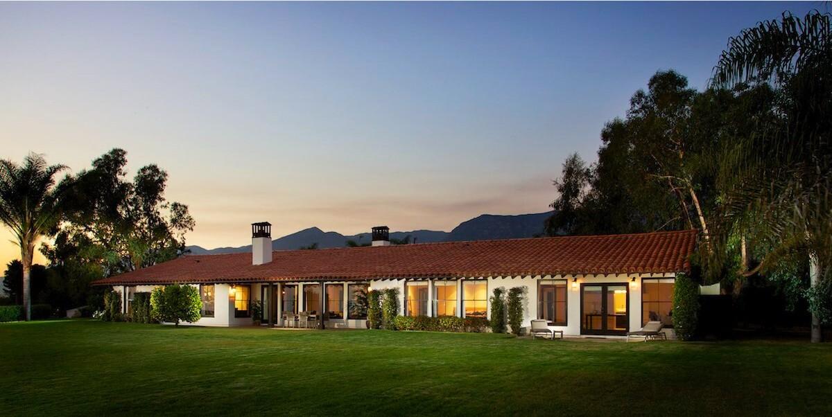 Spanish villa in Montecito   Hot Property