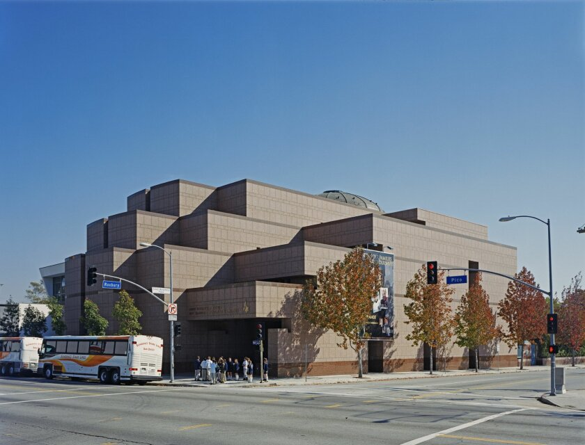 The Museum of Tolerance in Los Angeles. Courtesy