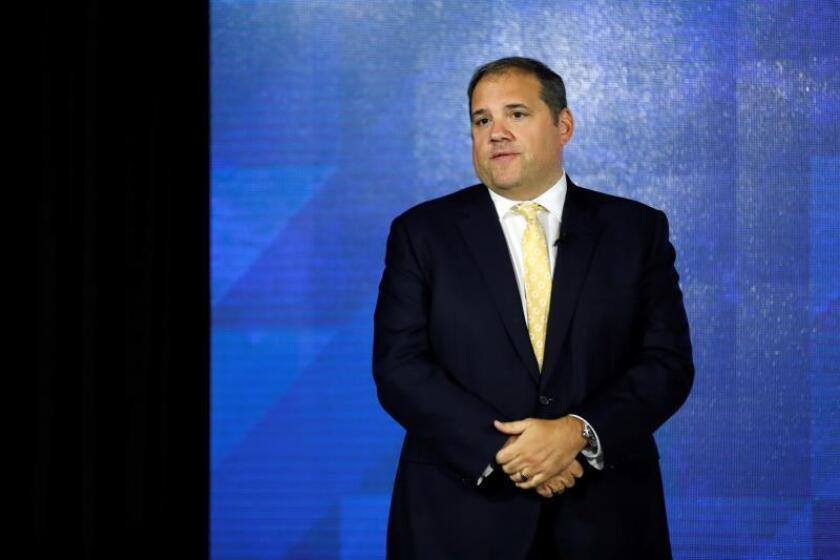 El presidente de la CONCACAF, Victor Montagliani. EFE / Etienne Laurent/Archivo
