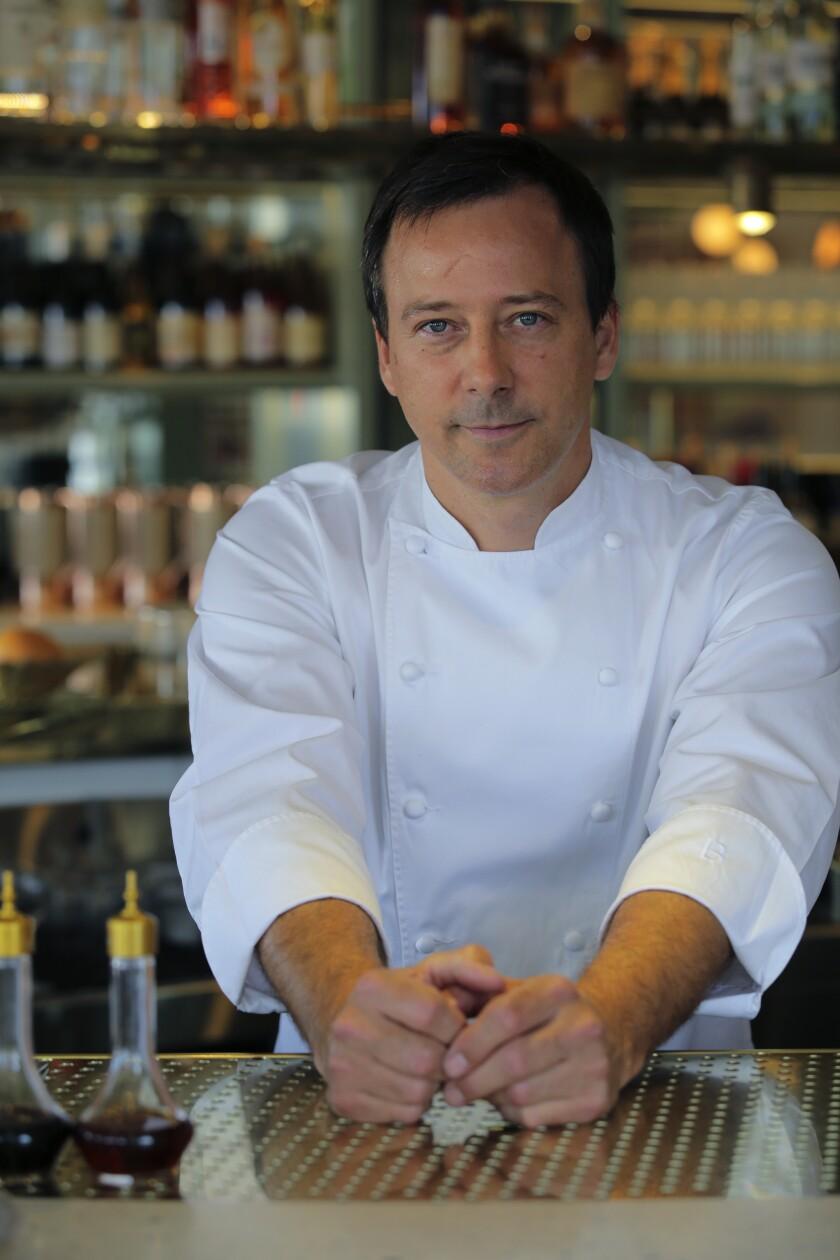Eric BostはCarlsbadのJeune et Jolieレストランのチーフシェフです。