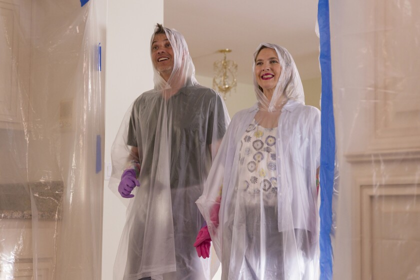 """Drew Barrymore and Timothy Olyphant star in the Netflix comedy """"Santa Clarita Diet,"""" produced by Kapital Entertainment."""