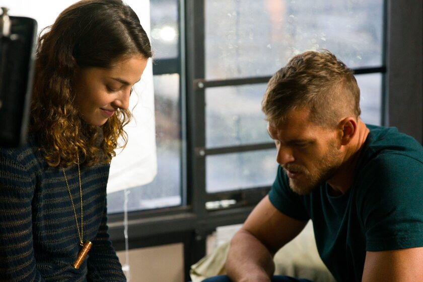 Olivia Thirlby, Alan Ritchson, 'Above The Shadows'