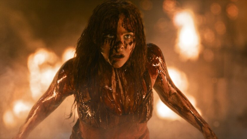 """A remake of """"Carrie"""" starring Chloe Moretz is expected to scare up some money at the box office."""