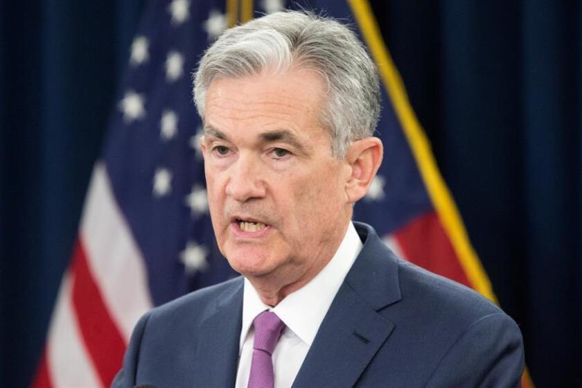 El presidente del banco central estadounidense, Jerome Powell. EFE/Archivo
