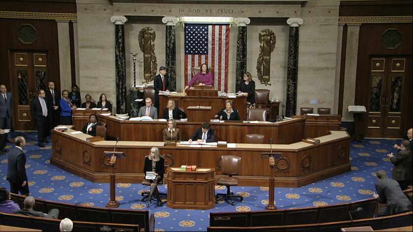 House of Representatives debate articles of impeachment against President Trump