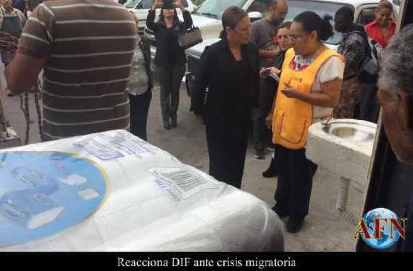 Reacciona DIF ante crisis migratoria