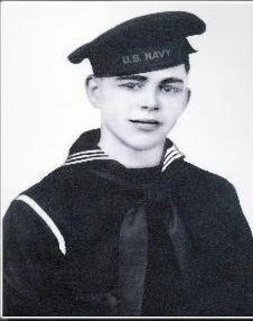Battle of Midway honoree Edward McKenna.