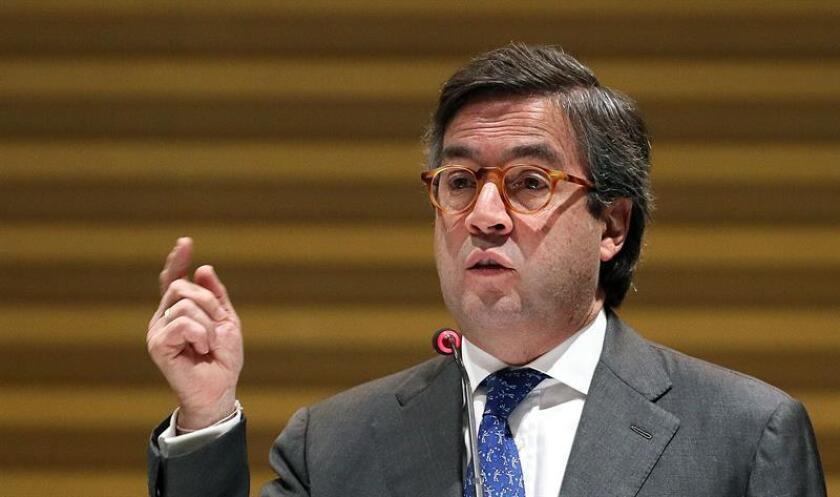 El presidente del Banco Interamericano de Desarrollo (BID), Luis Alberto Moreno. EFE/Archivo