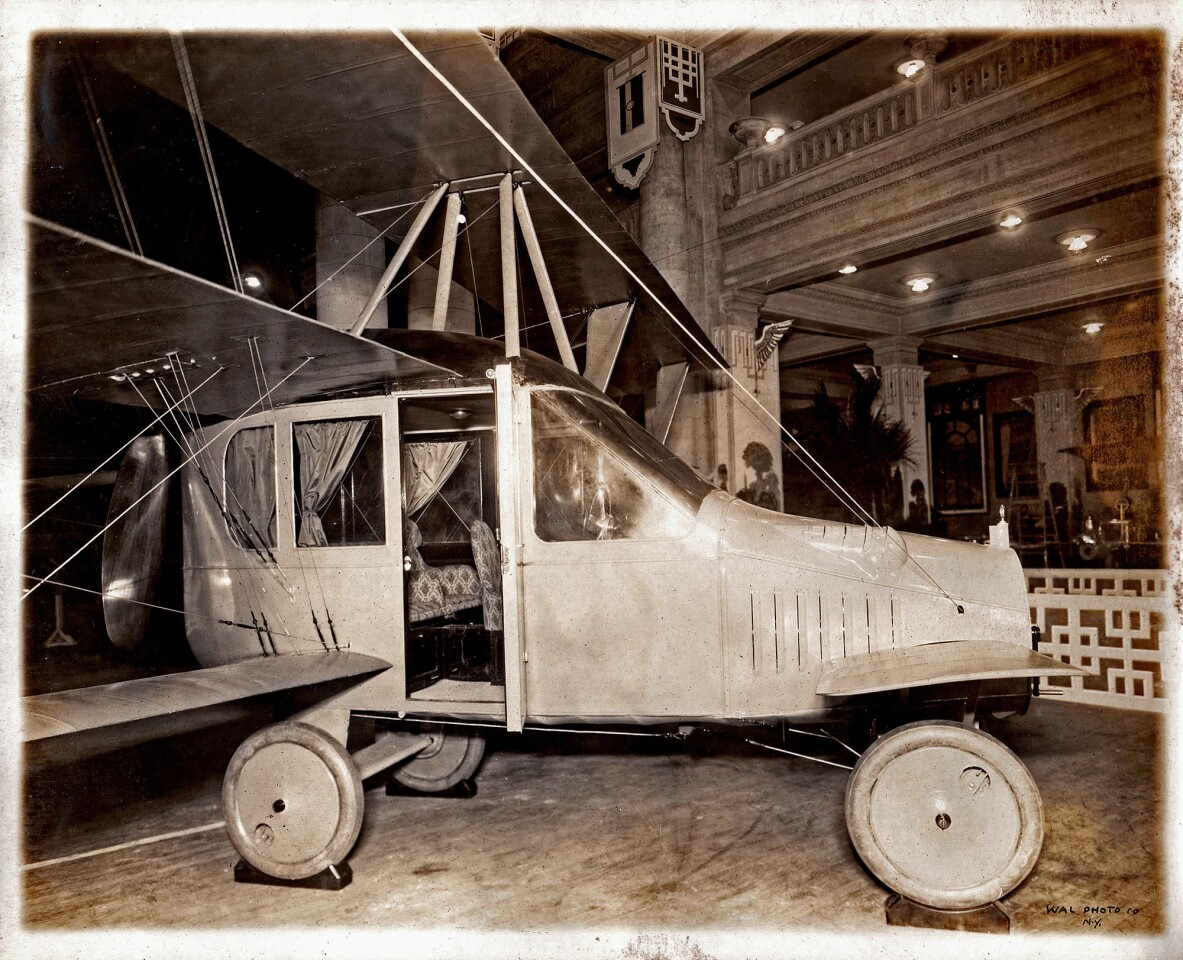 The Curtiss Autoplane, invented by Glenn Curtiss in 1917, is widely considered the first roadable aircraft. Although the vehicle was capable of lifting off the ground, it never achieved full flight.