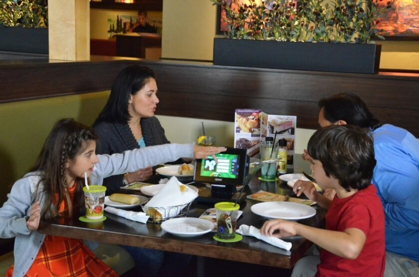 Olive Garden Rolls Out Tabletop Tablets For Ordering And Payment