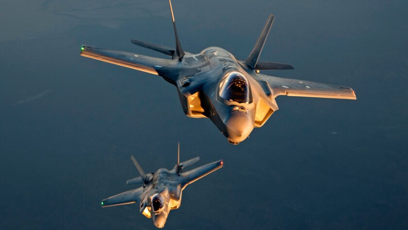 Production of the long-delayed F-35 is ramping up.